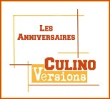 Logo anniversaires Culino Versions