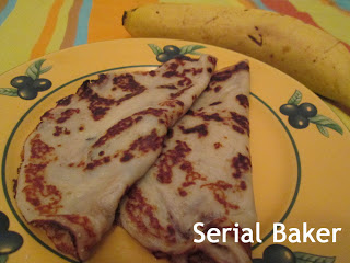 crepe banane coco