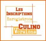 logo inscriptions enregistrees Culino Versions