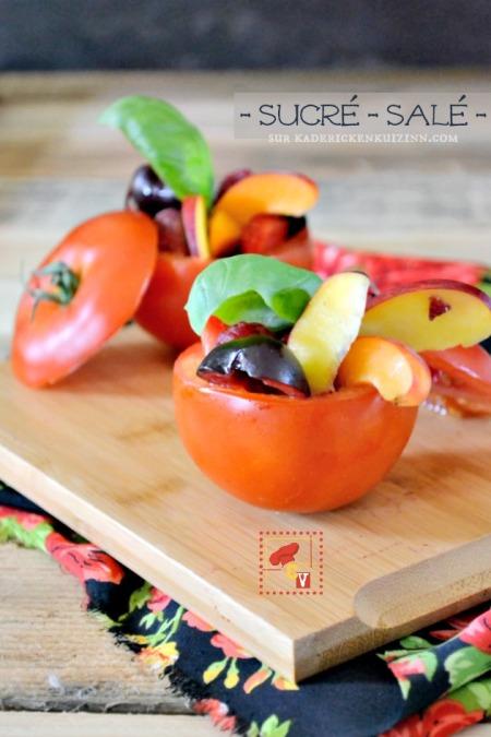 Cuisine-ete-entree-sucre-sale-tomates-farcies-fruits