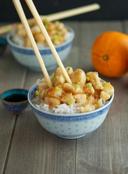 15-Minute+Chinese+Orange+Chicken