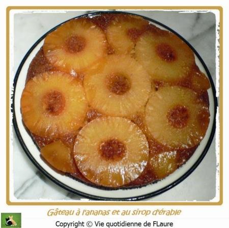 gateau+ananas+sirop+érable+entier