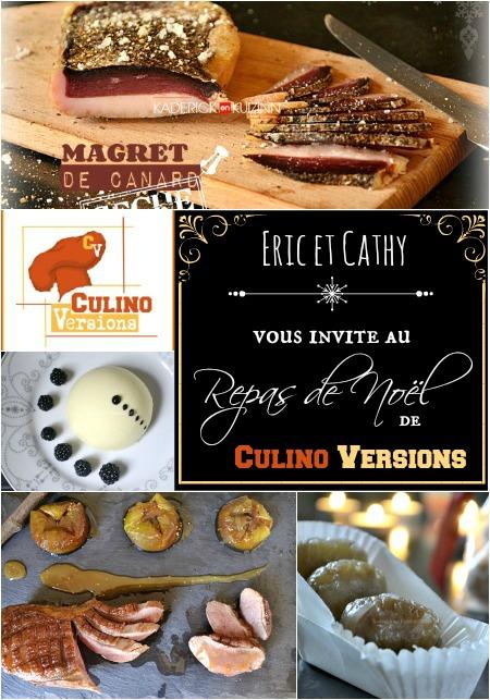 Logo repas de noel Culino Versions